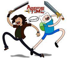 Adventure Time Finn n Zeknox by Zeknox