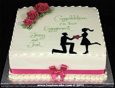 London Cake - Engagement cakes
