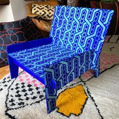 Ikea Stenciled Chair | Stencil 1