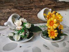 DIY: Faça voce mesma a sua cascata de flores na chavena ♥