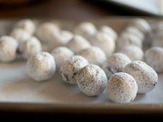 Chocolate Truffles recipe from Ina Garten via Food Network