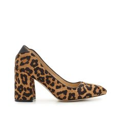 Available exclusively at Sam Edelman, our Kassidy block heel is a collection standout. The feminine round toe and mid-height block heel makes them perfect for everything from office to weekend ensembles.  Block HeelClosure: Slip OnToe: Pointed ToeHeel Height: 3 inchesMaterial: Kid Suede Leather or Leopard Brahma HairInsole: SyntheticExclusively at SamEdelman.com