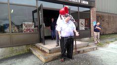 Miramichi MLA Bill Fraser ALS Ice Bucket Challenge
