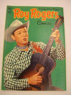 1952 Roy Rogers Comic Book