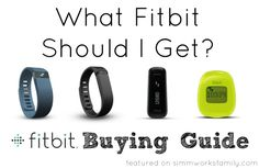 What Fitbit Should I Get? {Fitbit Buying Guide}