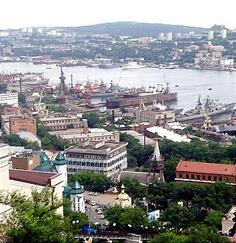President Hinckley visits Vladivostok Russia, my future mission!