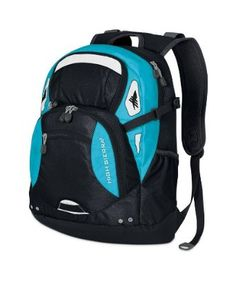 40c72c174b99 Buy High Sierra U. Snowboarding Scrimmage Backpack - Black Teal from the  official online store of the US Snowboard Team! USA Snowboarding Fans Buy  High ...