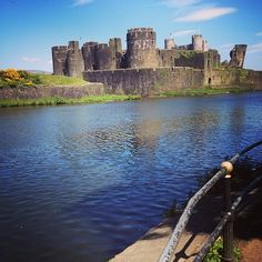 The 'slumbering giant' or Caerphilly Castle - we wrote about it on our blog - If you're struggling to think of ideas for days out, take a look...  http://www.valleymill.co.uk/blog/caerphilly-castle-exploring-slumbering-giant/