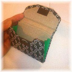 カルトナージュ/作り方/名刺入れ_画像 ©Atelier Z=Grace Paper Purse, Small Wallet, Card Case, Coin Purse, Paper Crafts, How To Make, Handmade, Design, Card Holders