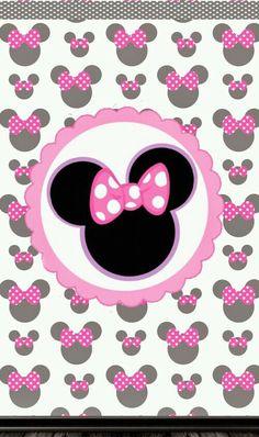 Image via We Heart It https://weheartit.com/entry/145211533/via/22479432 #cute #minniemouse #pink #wallpaper
