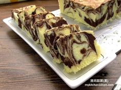 Butter cake is a must-learn cake for baking beginners, it is easy to make and is less likely to fail. Marble butter cake is a combination of traditional butter cake and chocolate butter cake. Chocolate Butter Cake, Chocolate Flavors, Marble Cake Recipes, Dessert Recipes, Chinese Steam Cake Recipe, Marmer Cake, Steamed Cake, Just Cakes, Chiffon Cake