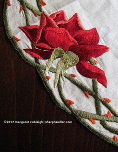 Society Silk red rose