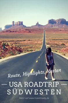 Drei Wochen Roadtrip durch den Südwesten der USA: Hier findest du Route, Highlights und viele Infos zur Planung der Tour.