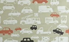 A cool cars fabric in a simple silhouette print. This modern style fabric is from the Playtime collection, and is perfect for children's curtains Childrens Curtains, Car Fabric, Prestigious Textiles, Jungle Animals, Fantasy World, Cool Cars, Weaving, Kids Rugs, Embroidery