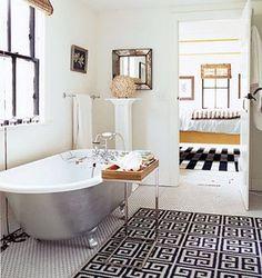 Domino Magazine bathroom.
