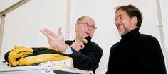 Werner Bulwahn und Götz George bei Mercedöl