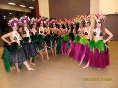 Tahitian costumes