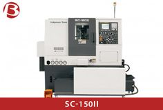 SC-150II All axes are equipped with high-rigidity and high-resistance box-type slides