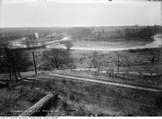 Beltline tracks behind what is now Halford Avenue Railroad Tracks, Past, Toronto, History, History Books, Historia