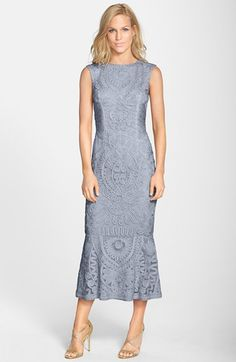 JS Collections Soutache Overlay Gown available at #Nordstrom
