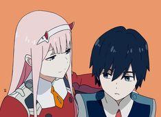Zero Two & Hiro - Darling in the Franxx #anime