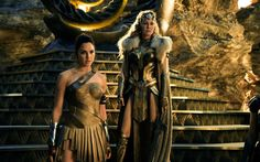 Wonder Woman, 2017, Gal Gadot, Connie Nielsen, Hippolyta, Amazonian queen