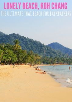 Best Family Beach Vacations :Koh Chang is one of my favorite beaches in Thailand! Thailand Travel Guide, Asia Travel, Solo Travel, Travel Plan, Budget Travel, Bangkok Thailand, Beach Fun, Beach Trip, Beach Vacations
