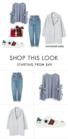 """Untitled #377"" by joanaafrsantos ❤ liked on Polyvore featuring Miss Selfridge, Chicwish, MANGO and Gucci"