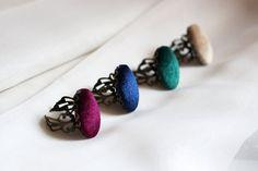 Velvet ring Handmade women jewelry Navy blue ring Red ring | Etsy Handmade Jewelry, Unique Jewelry, Handmade Gifts, Red Rings, Gemstone Rings, Trending Outfits, Navy Blue, Women Jewelry, Velvet