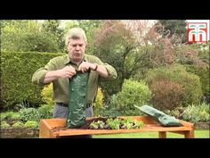 How to plant up a flower pouch video with Thompson & Morgan. - YouTube