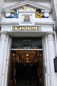 Twinings Tea Shop and Museum - London, england- a must if you love tea:)