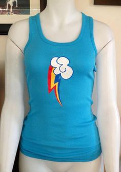 My Little Pony tank top ALL PONIES POSSIBLE  by TekanisCostumes, $25.00