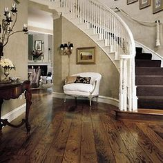 beautiful floor and staircase