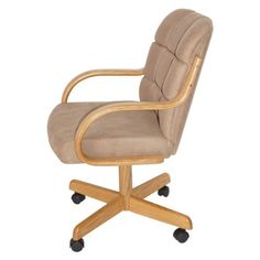 Casual Dining Cushion Swivel and Tilt Rolling Caster Chair  http://www.furnituressale.com/casual-dining-cushion-swivel-and-tilt-rolling-caster-chair-4/