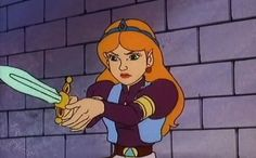 Zelda (Legend of Zelda cartoon) - I know that these are overly cliched and don't have the best writing at times but they're actually kind of funny. And Zelda can make a bow and arrow appear out of thin air, so that's cool.