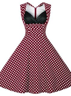 Miusol Women's Cut Out V-Neck Vintage Casual Retro Dress at Amazon Women's Clothing store:  https://www.amazon.com/gp/product/B00ZHA2CPO/ref=as_li_qf_sp_asin_il_tl?ie=UTF8&tag=rockaclothsto-20&camp=1789&creative=9325&linkCode=as2&creativeASIN=B0109UE2ZY&linkId=7f711dd812af800565db5ca47524bf60&th=1