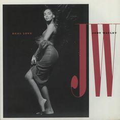 """Jody Watley Real Love 1989 UK 7"""" vinyl MCA1324: JODY WATLEY Real Love (1989 UK 7 vinyl single taken from her Larger Than Life album also…"""