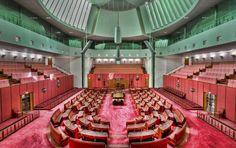 Senate-Chamber, Australia
