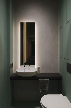 Lime Rock on Behance Contemporary Bathroom Designs, Contemporary Apartment, Modern Contemporary, Apartment Interior, Apartment Design, Toilet Design, Green Rooms, Modern Minimalist, Bathroom Inspiration