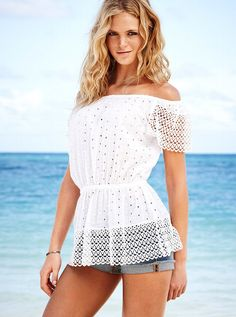 Erin Heatherton white top