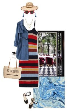 """""""Y"""" by taxicabs ❤ liked on Polyvore featuring MANGO, WithChic, Rebecca de Ravenel, Yves Saint Laurent, Henri Bendel, Edge of Ember, Soludos, Style & Co., CLUSE and Tiffany & Co."""