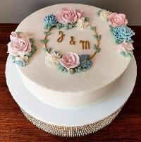 Monogram Wedding Cake!