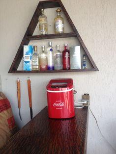 Uma parte do meu bar na churrasqueira