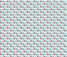 Colorful molar teeth fabric by petitspixels on Spoonflower - custom fabric