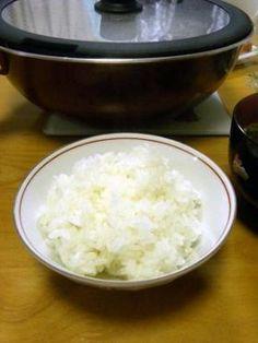 「加熱時間5分弱お鍋でごはんを炊く方法」東雲えーあんどえむ | お菓子・パンのレシピや作り方【corecle*コレクル】
