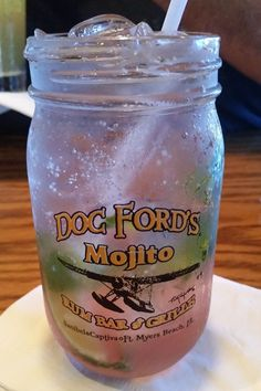 Doc Fords Mojito Sanibel Island