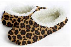 c2eec0f8004 Snoozies Women s Cozy Slippers Brown Leopard