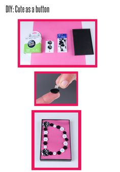 #diy button art! click for full instructions