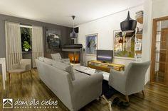 Projekt domu Wróbel - wariant A - Dom Dla Ciebie Corner Desk, House Plans, How To Plan, Furniture, Home Decor, Home Plans, Drawing Rooms, Blueprints For Homes, Homemade Home Decor