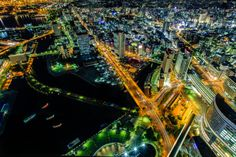 Yokohama by night 4 by Huy Tonthat on 500px